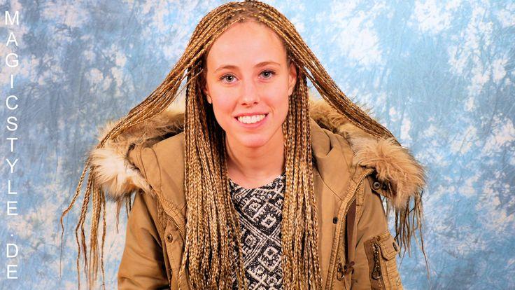 Celine: Feine Rastazöpfe mit Kunsthaar in 4 wunderschönen Blondtönen