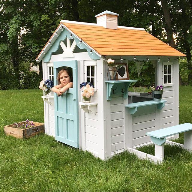 Play Houses Kids Playhouse Backyard House, Girls Outdoor Playhouse