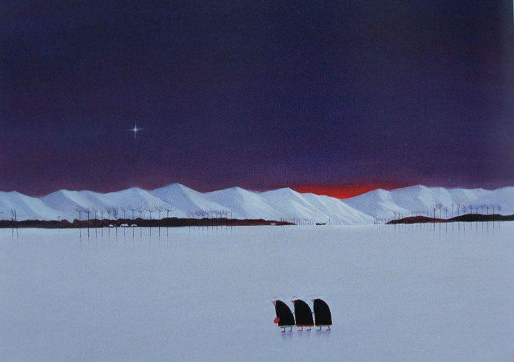越後瞽女日記(二本木の雪)出羽桜美術館蔵 (850×598)