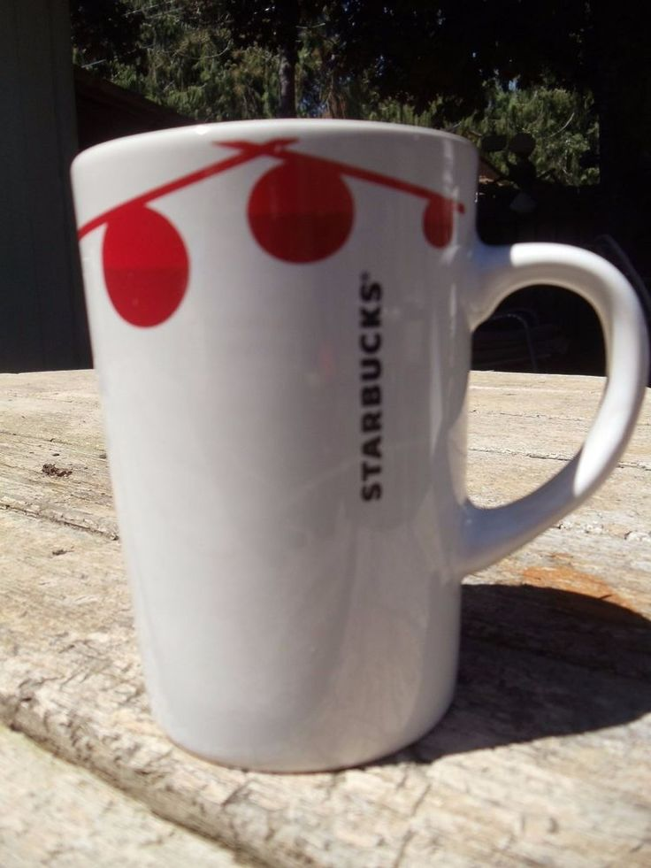 ~ Starbucks Christmas Coffee Mug Red Ornament Balls Xmas Lights ~. This distinctive coffee mug, from Starbucks, is in Like New Condition. Some people are scent sensitive so clothes may need to be washed again per your preferences. | eBay!