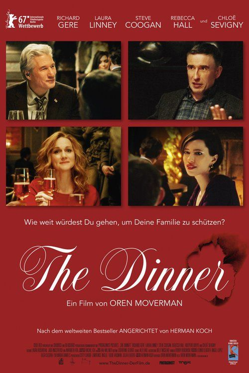 Watch The Dinner (2017) Full Movie HD Free Download