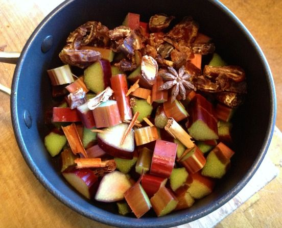 NEW RECIPE: Stewed rhubarb, so yummy it feels naughty. From thelovingcook.com.au: http://bit.ly/1lVfuSf
