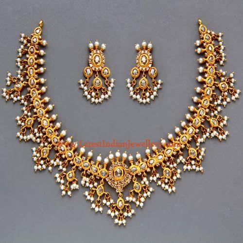 Traditional Gutta Pusalu Necklace
