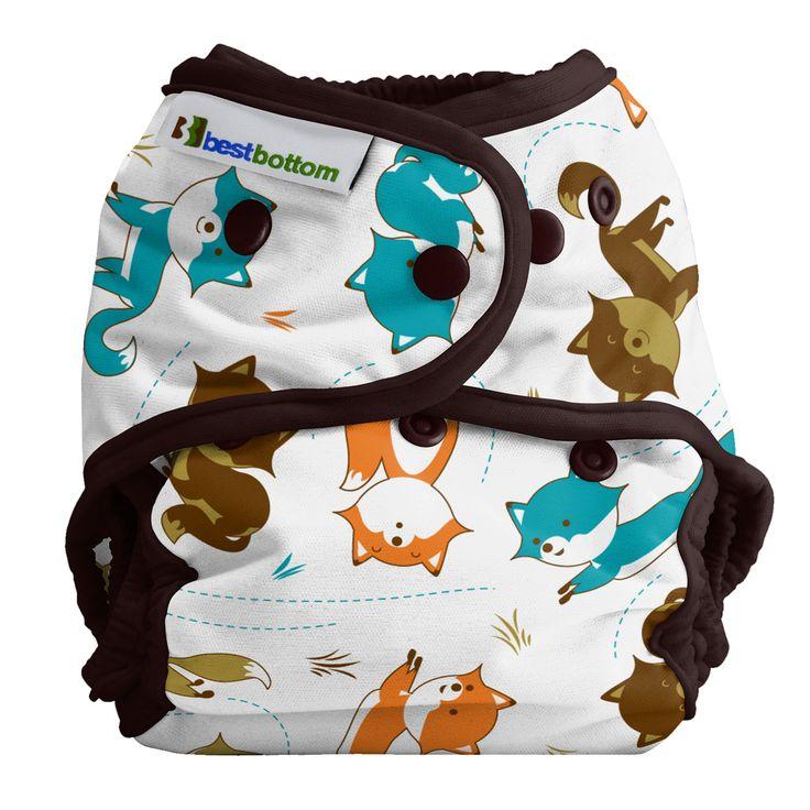 A Best Bottom mosható pelenka külső kiválóan illeszkedik, újszülött kortól egészen 16 kg-ig. Egyedülálló és az egyik legjobb a mosható pelenkarendszerek közül.