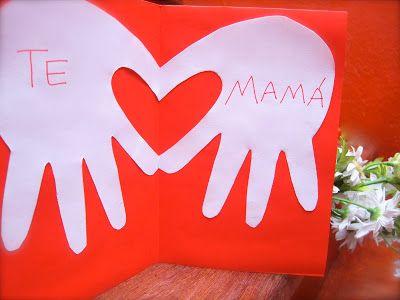 Del Blog Nuestro Mundo Creativo: Tarjeta de Corazón!!