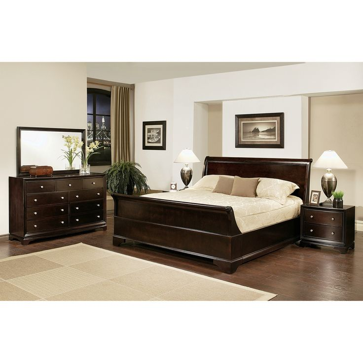 enrich your home decor with this kingston kingsize sleigh bedroom set this set features solid oak wood and includes a kingsize bed