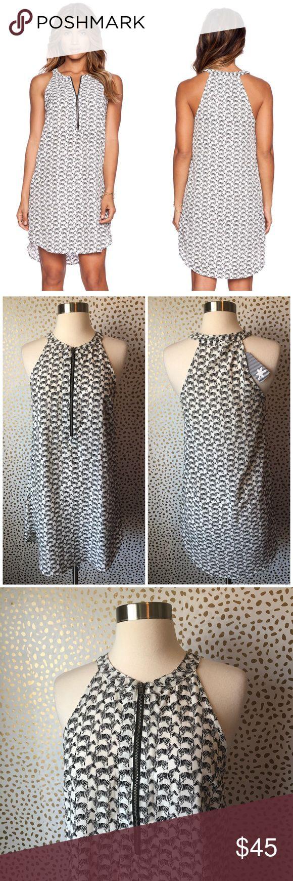 NWT Splendid Zebra Print Dress Brand new with tags! Super cute zip front detail. Size XS. Zebra print! $114 tags attached. No trades!! Splendid Dresses Mini