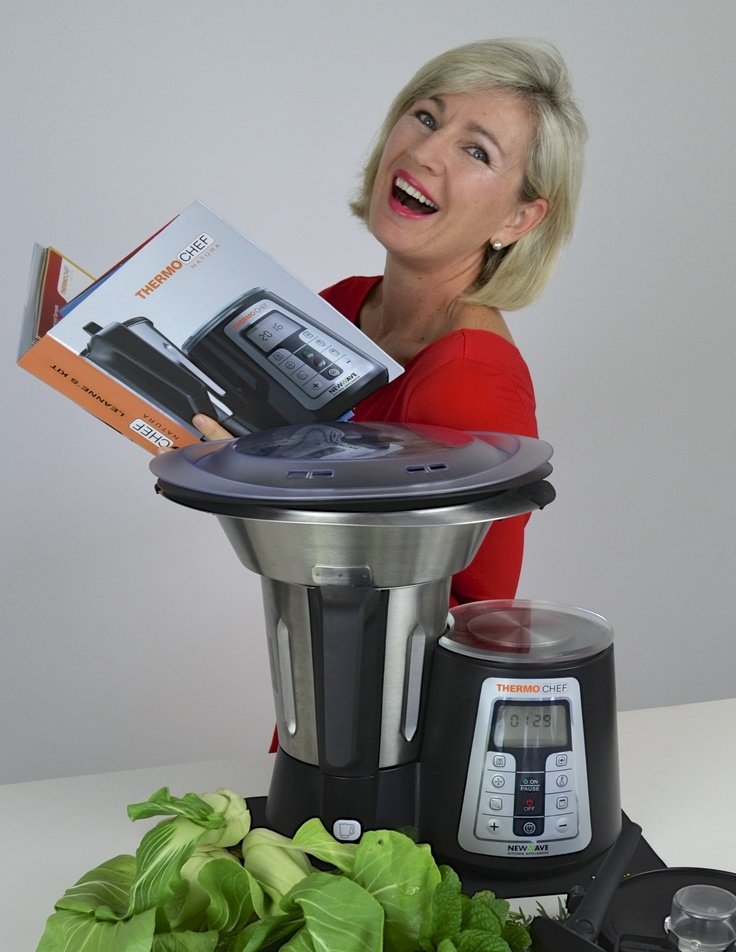 Thermochef Natura - One Appliance; THOUSANDS of possibilities!   Find out more ... www.facebook.com/4ingredientspage