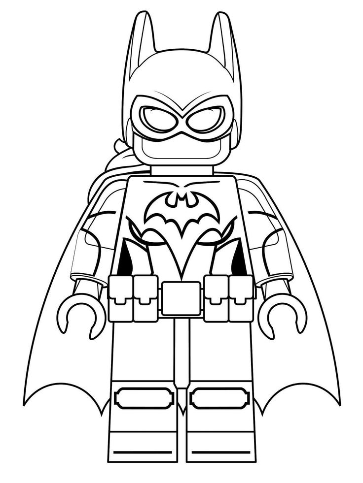 lego city coloring pages batman - photo#20