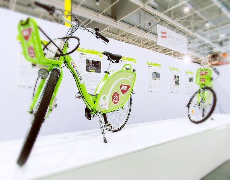 UP Advertising: MOL Bubi design Budapest public bicycle transportation design More info: www.up.hu