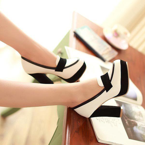 Encontrar Más Bombas de las mujeres Información acerca de Tamaño grande 34 43 nuevo 2015 mujeres bombas OL con estilo grueso tacones altos zapatos de princesa Sexy zapatos de la boda del partido bombas de la plataforma V152, alta calidad zapatos de Portland, China zapatos de baloncesto Proveedores, barato pulidor de zapatos de chengdu HaoFeng Shoes Co., LTD en Aliexpress.com