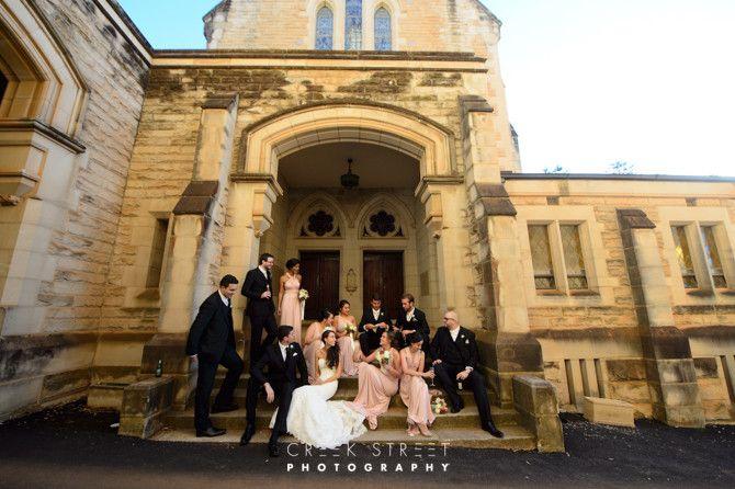 ICMS Manly Wedding location shoot - Cardinal Cerretti Memorial Chapel