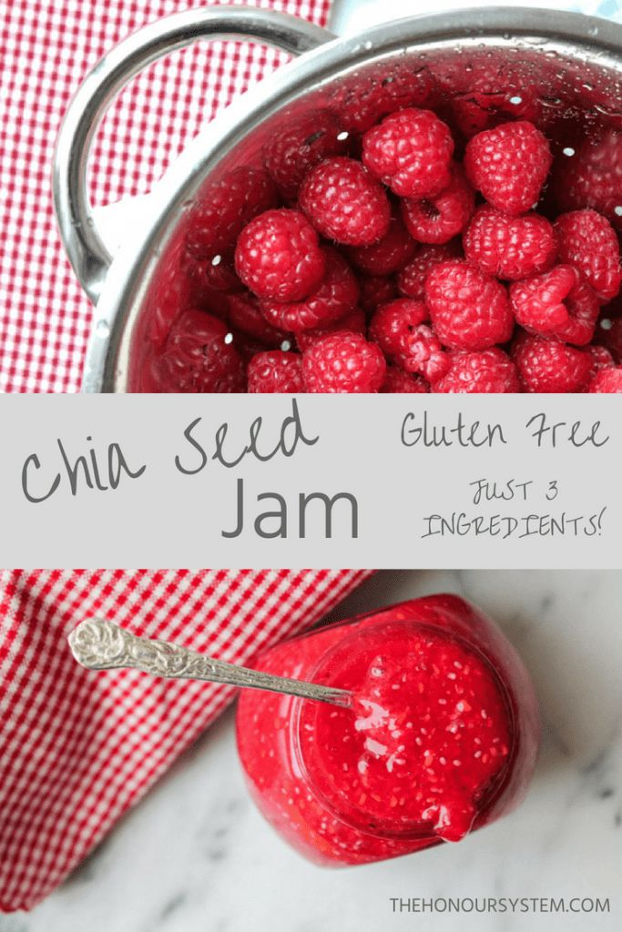 Homemade jam has a new definition with this Raspberry Chia Seed Jam recipe. Besi…