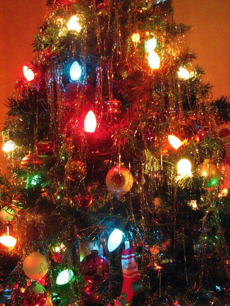 Best 25 Vintage Christmas Trees Ideas On Pinterest