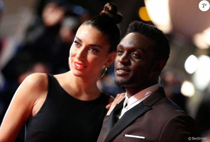 Corneille et sa femme Sofia de Medeiros à la 16ème édition des NRJ Music Awards à Cannes, le 13 décembre 2014.