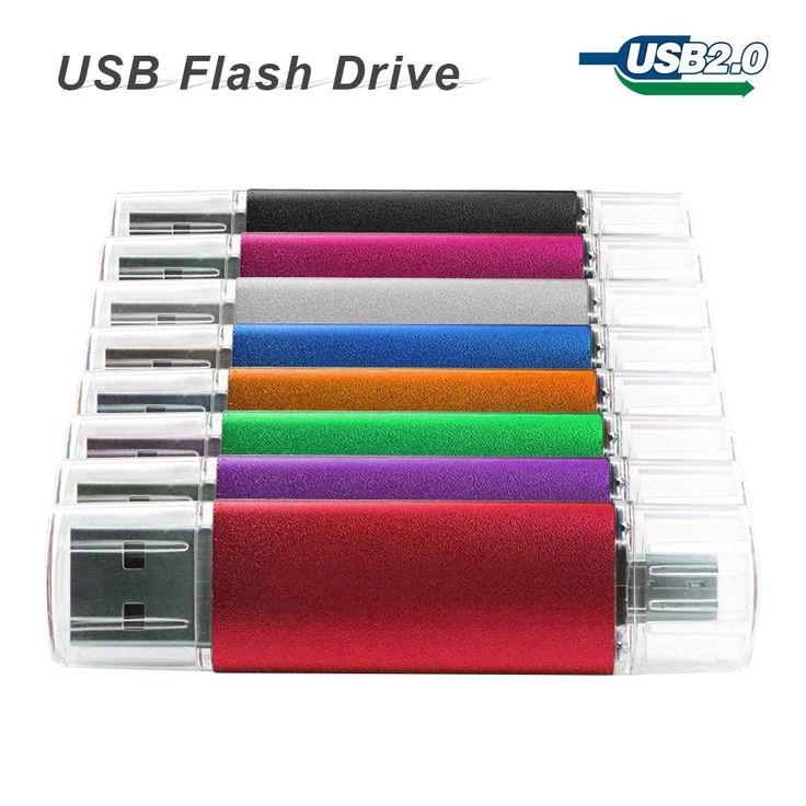 새로운 스마트 전화 태블릿 PC USB 플래시 드라이브 64 기가바이트 펜 드라이브 OTG 32 기가바이트 16 기가바이트 8 기가바이트 4 기가바이트 usb 드라이브 메모리 스틱 usb 2.0 pendrive