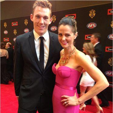 Nicole & Drew Petrie Brownlow 2013