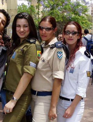 Girls of The Israeli Army ~ Damn Cool Pictures | Female ...