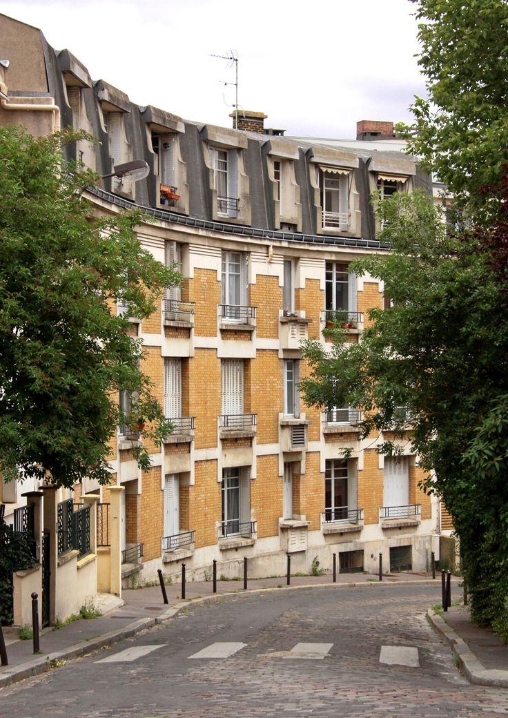 La Butte Bergeyre, 19th Arrondissement, Paris