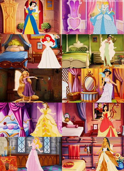 The princesses.<3