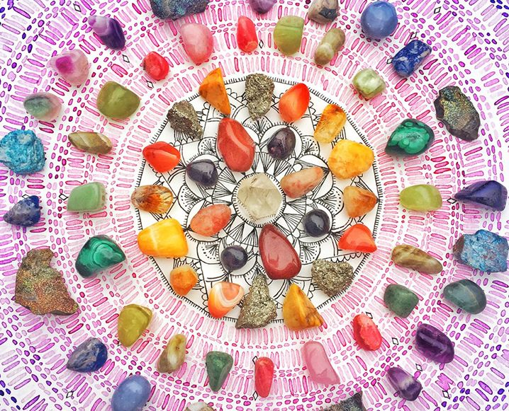 Are you hiding your love of crystals from the world? Afraid your friends will think you're all New Age-y? Here are 8 steps to owning your spirituality! @chalkboardmag