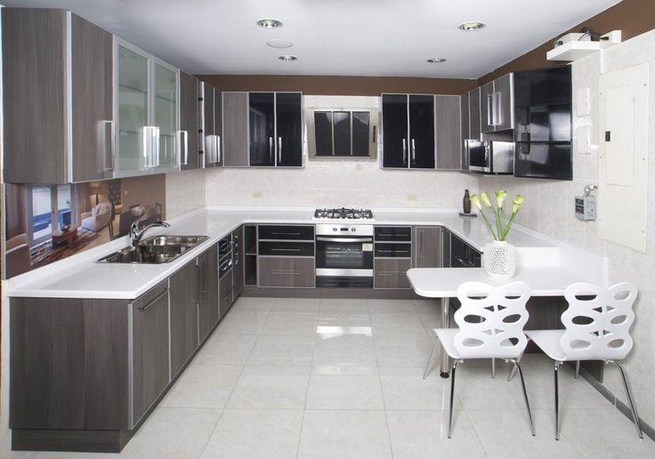 Nuevo dise o de nuestro show room cocina termolaminada for Superficie cocina