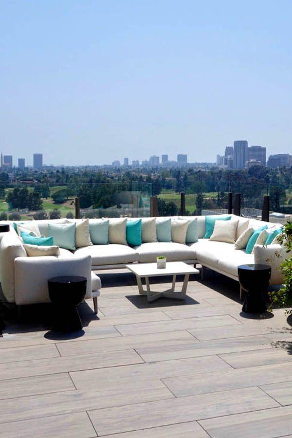 أفضل تصاميم الديكورات الخارجية وديكورات أسطح المنازل وتصميمات مميزة لأثاث الحدائق وأسطح الفلل Outdoor Furniture Sets Outdoor Sectional Sofa Outdoor Furniture