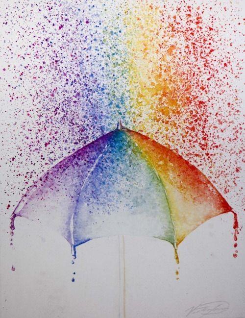 colorful rain!