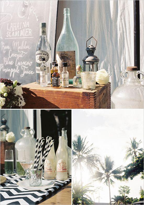 cocktail bar wedding ideas