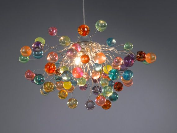 Imagine this above the dinning table!   https://www.etsy.com/listing/126596070/lighting-hanging-chandeliers-bubbles