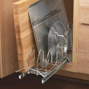 Lynk Professional Roll Out Lid Tray Organizer