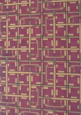 Fabric design by Frank Lloyd Wright