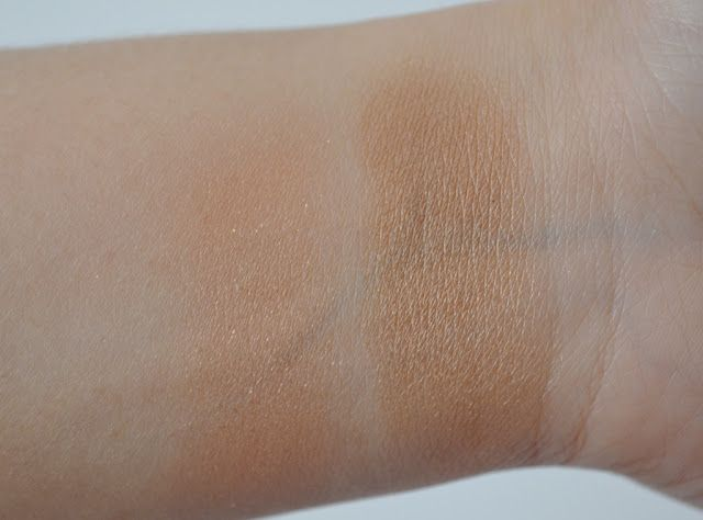 Lemme Swatch It!: Swatches | ELF Contouring Blush & Bronzing St. Lucia