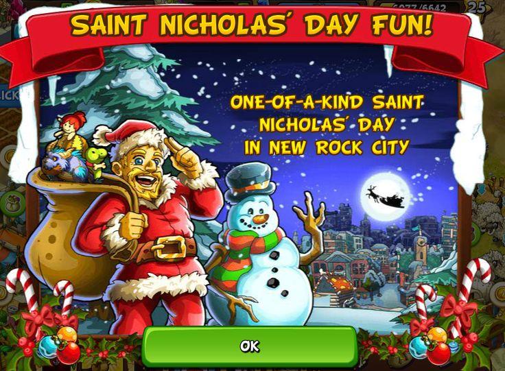 Saint Nicholas' Day Fun http://wp.me/p4gCBu-d5 #newrockcity