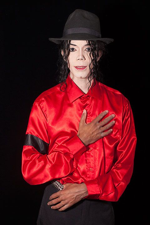 """ Portraits of Michael Jackson Impersonators"" by Lorena Turner"