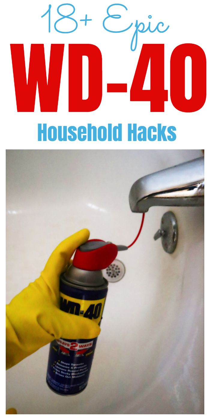 Tips Tricks And Hacks For Using Wd 40 Around Your Home