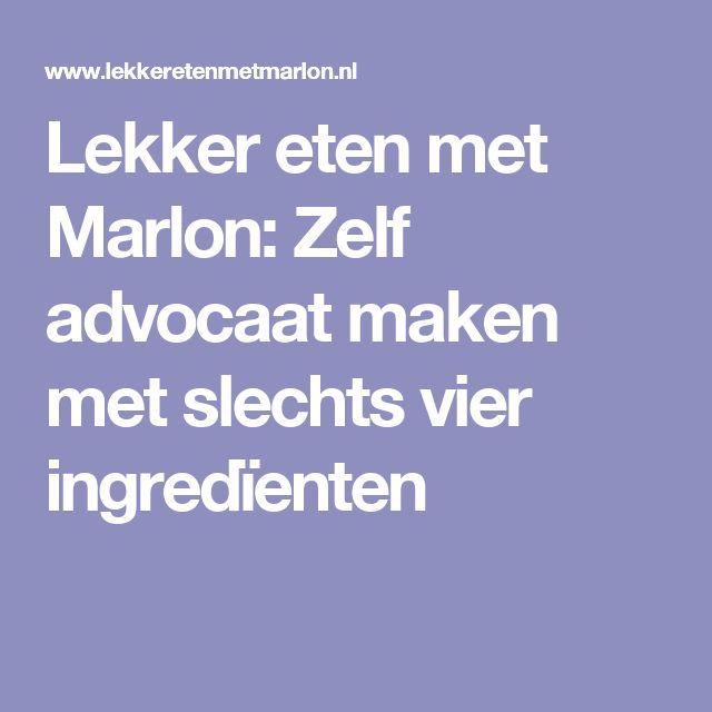 Lekker eten met Marlon: Zelf advocaat maken met slechts vier ingredïenten