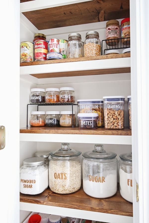 Small Pantry Organization Makeover In 2020 Small Pantry