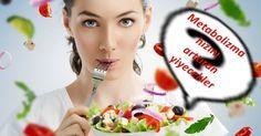 Metabolizma hızlandırıcı besinler ile yağ yakımını hızlandırabilir ve daha kolay kilo verebilirsiniz.