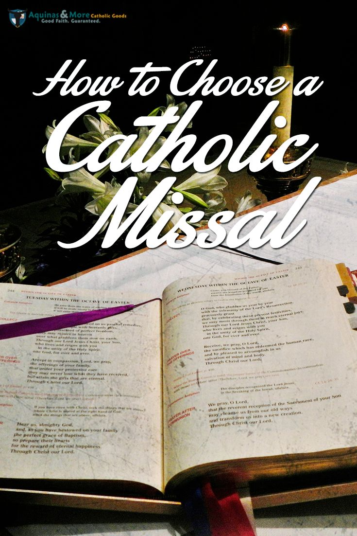 Who doesn't have a Catholic Missal yet?
