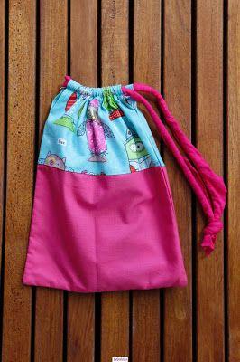 El blog de Bebelulua: Bolsa de almuerzo, estuche porta cubiertos....