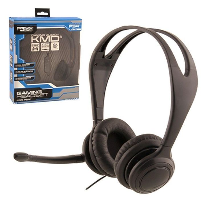 KMD Small Live Chat Headset With microphone For Sony PS 4 #2122032