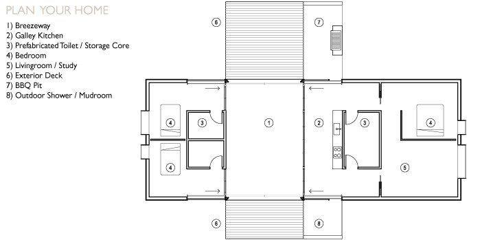Amazing Modern Dogtrot House Plans Dog Trot House Dog Trot