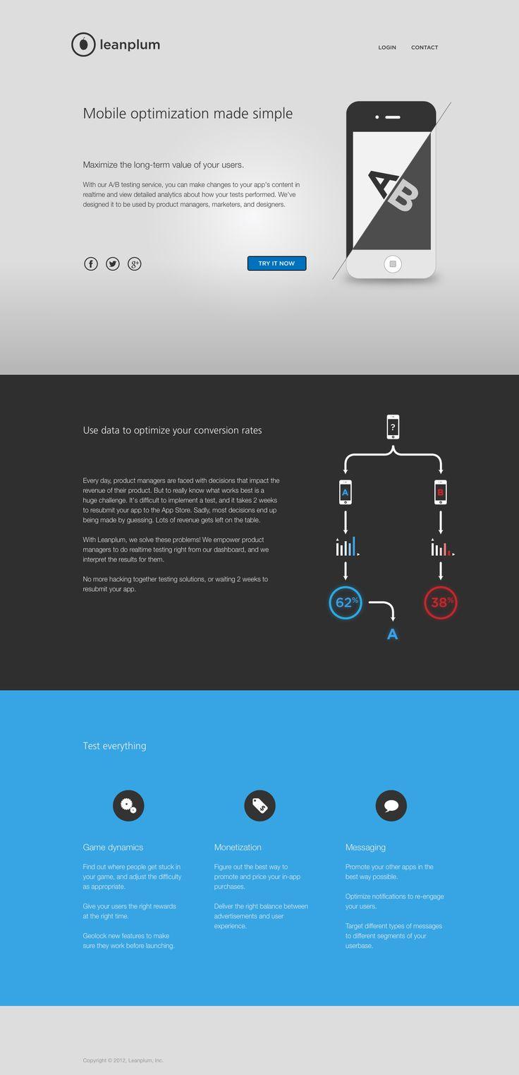 Leanplum website
