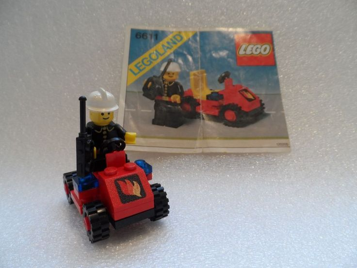 lego fire chief car instructions