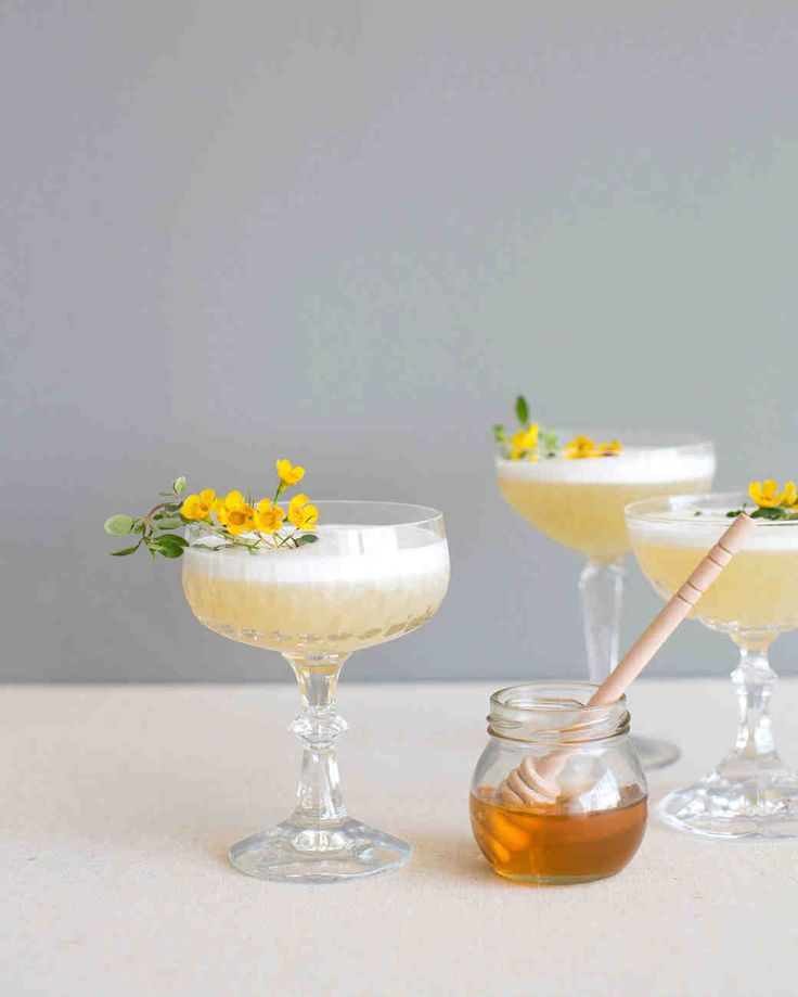 This Chic, Modern Wedding Took Place in a Los Angeles Loft | Martha Stewart Weddings - Guests sipped Luck Is in the Air cocktails, a straight-up mix of prosecco; elderflower liqueur; almond, pear, and vanilla shrub; honey; thyme; and lemon.