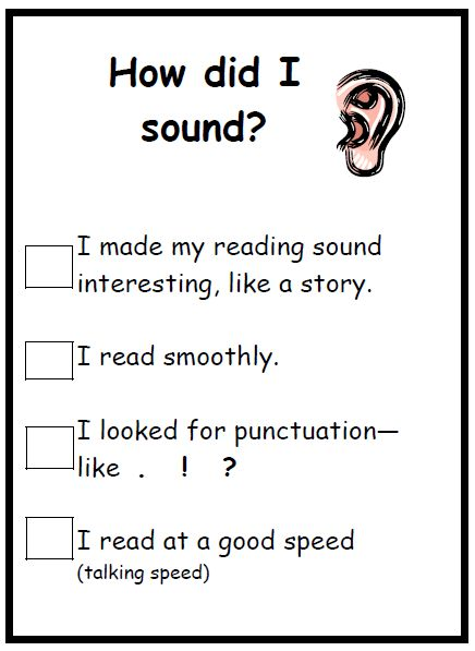 self-assess their own reading