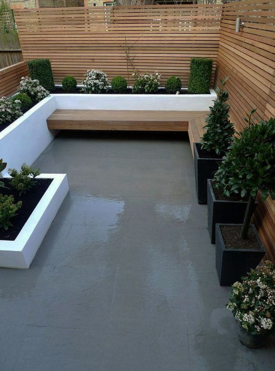 Making Best Use Of A Small Patio Garden Landscape