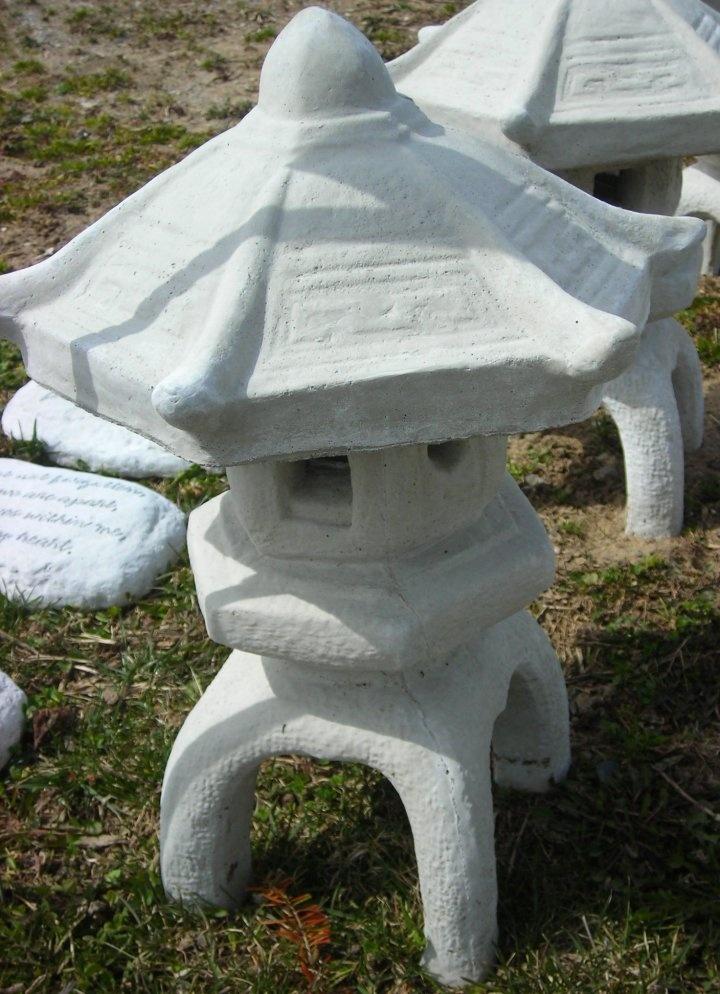 Cement Garden Statues