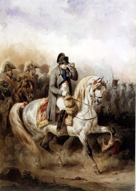Napoleon on a grey horse 1839 xx joseph louis hippolyte for Napoleon horse painting